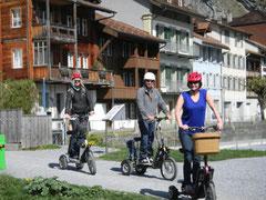 Geführte Tour mit e-Bikeboard