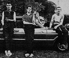 Mischs 1981: Bernd, Thomas, George (von ND), Matt