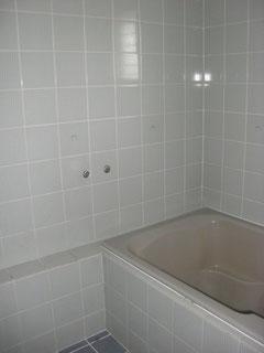 団地の浴室