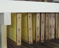 Bienenrähmchen mit Mittelwand