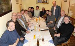 Vorstand mit einigen Beiratsmitgliedern Foto Mitteregger