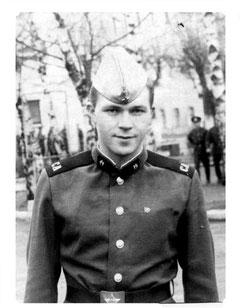 г. Ярославль, учебный батальон ЖДВ, осень 1988г.
