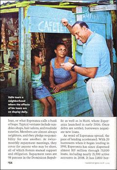 Foto di Marc Asnin su un articolo da Reader's Digest.