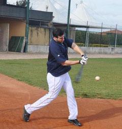 Alex Liddi si allena a Grosseto (www.lanazione.it)