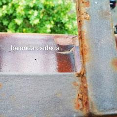 Como pintar barandilla oxidada. Pintors Barcelona Pintores