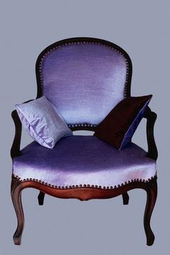 Fauteuil à la reine époque Louis XV