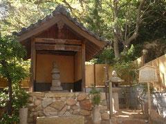 平敦盛の首塚(神戸市・須磨寺)