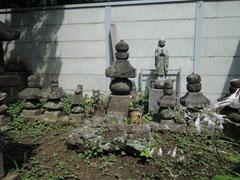 横浜大寧寺の範頼の墓