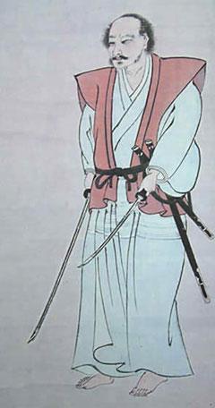 宮本武蔵像(熊本・島田美術館)