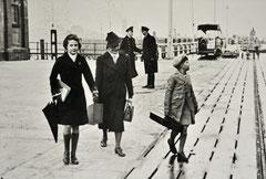 Die Familie Kabisch-Dessau 1939 in Cuxhaven auf dem Weg ins amerikanische Exil, © Eva Kabisch-Dessau