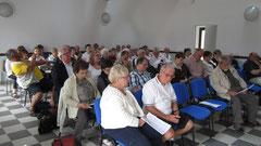Conférence lors des journées du jumelage le 9 juin 2012