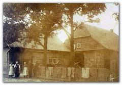 Moorbäckerei Hof im Jahr 1920