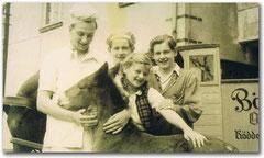 Otto Thiele und seine Geschwister