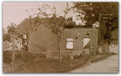 Moorbäckerei nach dem Brand 1931