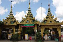 Eingang Mei La Mu Tempel