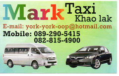 Visitenkarte Mark Taxi
