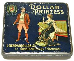 DOLLAR-PRINZESS 20 Cigarettes Serdaropulos Hamburg