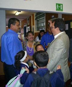 Rector: Alonso Mira y Alcalde: Alonso Salazar