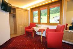 Schlafzimmer im Gästezimmer, Gästehaus Claudia