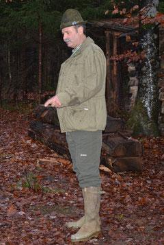 Jagdleiter Ueli Tröndle