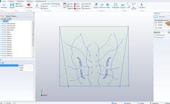 Klangpodium  CAD Zeichnung und Maschinendaten