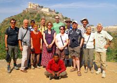 Reisegruppe der Indienreise