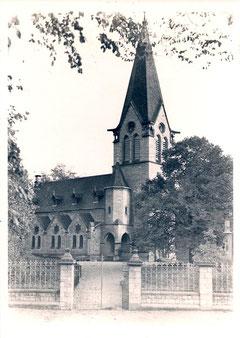 Kirche um 1935