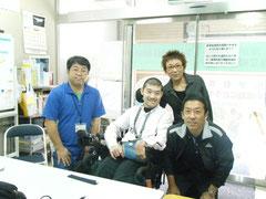 スタッフ菊池さん 及川さん 田中さん 高岡さん