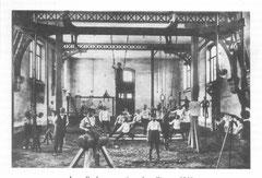 Notre gymnase en 1911