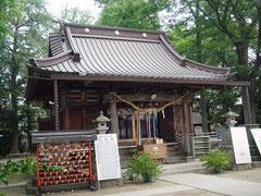 丸子山王日枝神社拝殿