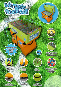 Streetfootball-Münzautomat