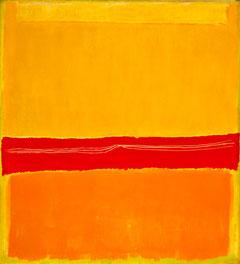 Одна из работ Марка Ротко. Размер полотна 297*272 см