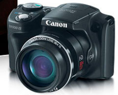 Canon SX500IS (с сайта Canon)