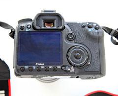Canon EOS 50D rear