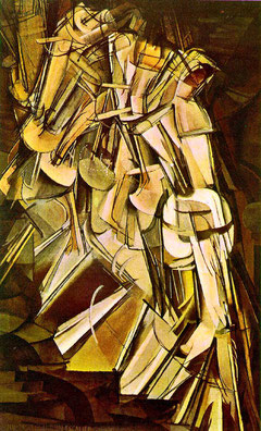 Marcel Duchamp, Nude Descending a Staircase