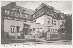 Das Adam-Stegerwald-Haus um 1930