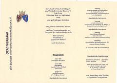Das Programm unserer Jubiläumsfeier
