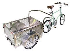 自転車で牽引できるリヤカー一覧