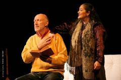 """""""Avant la cérémonie"""", de Naïm Kattan, avec Rufus - Mise en scène Florence Camoin - photo A. Gayan"""