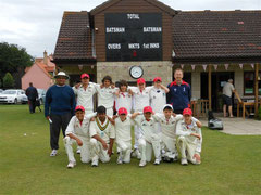 Swiss U14 XI at Burwell