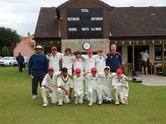 Swiss U14 XI at Burwell