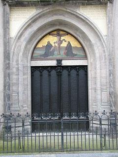 Thesentür an der Wittenberger Schloßkirche