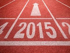 2015 Das neue Jahr ist am Start