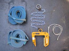 木造用吊クランプ・ナイロンスリング