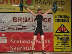 Hendrik Schmitt Saarlandrekord 67 kg