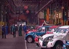 Usine Citroën de Levallois-Perret intérieur
