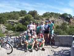 Entre sauter du pont dans l'Hérault ou grimper pendant 5 kilomètres, tout le monde a choisi la seconde option !