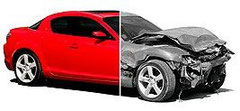 Altfahrzeuge, Unfallfahrzeug, Schrottauto