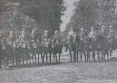 Grüppenbührener Reiter 1918
