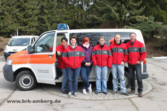 Die neuen Gruppenführer: v.l.n.r.: Ulrike Jakob, Susanna Honig, Christina Honig, Peggy Potsch, Markus Kitzler und Thomas Zwick